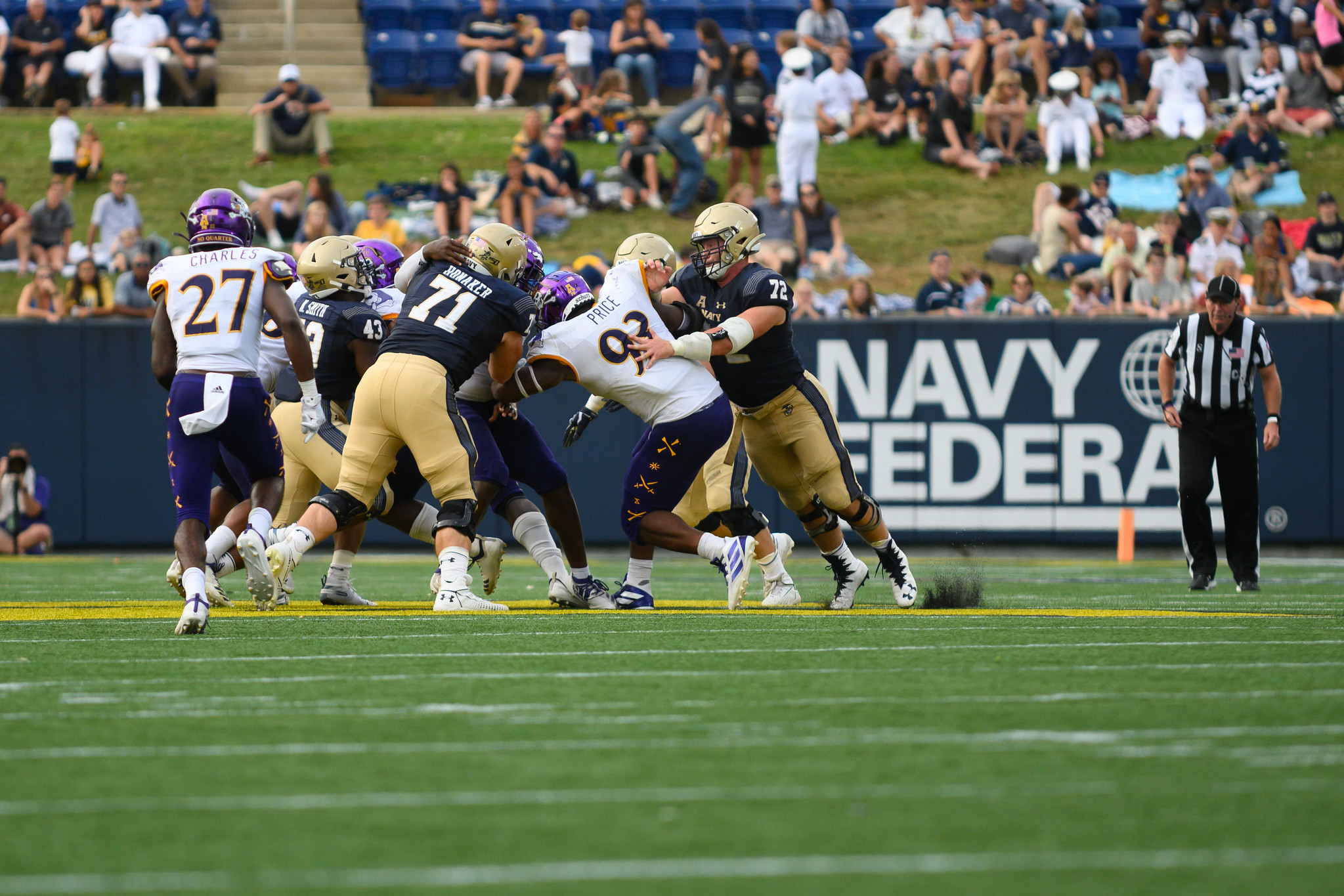 Navy-East Carolina Game